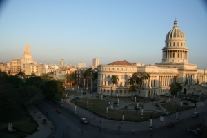 Havana's Capitolio, modelled on Washington's Capitol Building