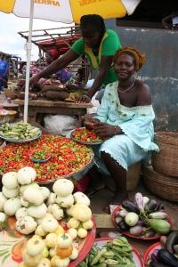 Market lady, Freetown