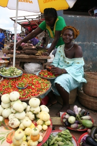 Market lady, Freetown