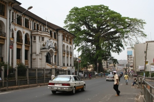 Law Courts and the Cotton Tree, Freetown